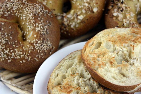 Homemade Bagels, a la Peter Reinhart | The Kitchen Paper