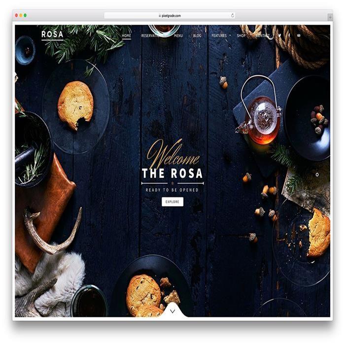 rosa-creative-fullscreen-restaurant-wordpress-theme