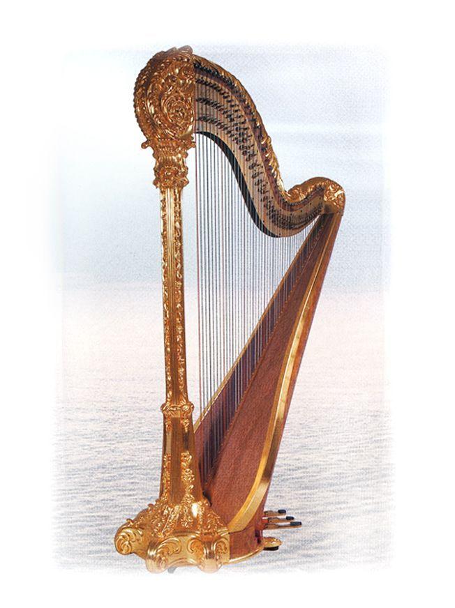 7 pedal harp instruments strings pinterest. Black Bedroom Furniture Sets. Home Design Ideas