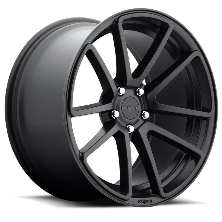 Rotiform SPF Wheels Matte Black 18x8.5 | 5x112 | ET45