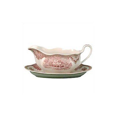 Johnson Brothers Old Britain Castles Pink Gravy Boat Only by Johnson Brothers. $40.99. Color: OBC pink. Dishwasher safe. Material: ceramic. Pink Gravy boat. This historical and traditional pattern, old British castles, intricately rendered by a miss fennel back in 1928. She, the daughter of a master engraver, created these original drawings from old book photographs and steel engravings. OBC is certainly one of the best known patterns from Johnson Brothers and...