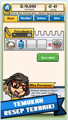 Game Nasi Goreng Mod Apk v1.6.0 Terbaru Mod Money