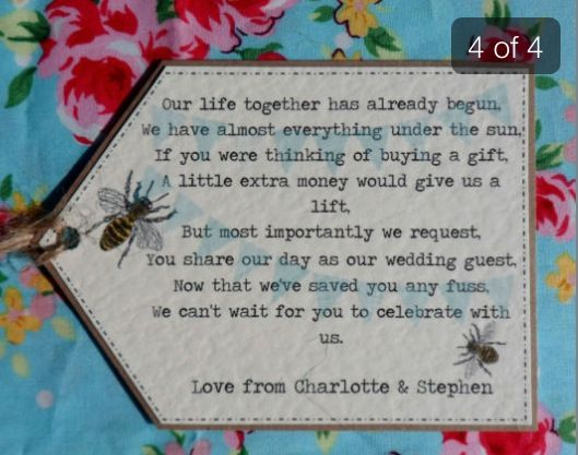 Asking For Money As A Wedding Gift Poem: 17+ Ideas About Wedding Gift Poem On Pinterest