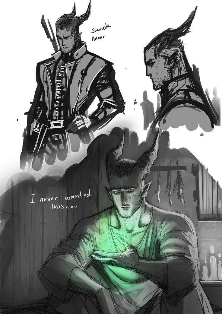 Inquisitor Adaar by S-Kinnaly on DeviantArt