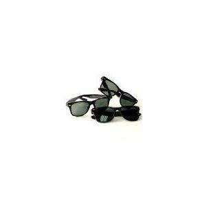 Classic 3-pack Glass Lens Wayfarer Style Sunglass (Eyewear)  http://www.womendresscode.com/prod.php?p=B000S7LYFU