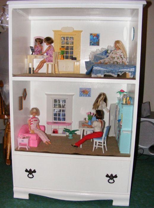как делать дом для кукол