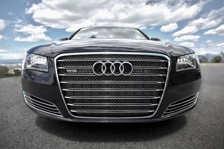 Audi A8 W12. In your face!