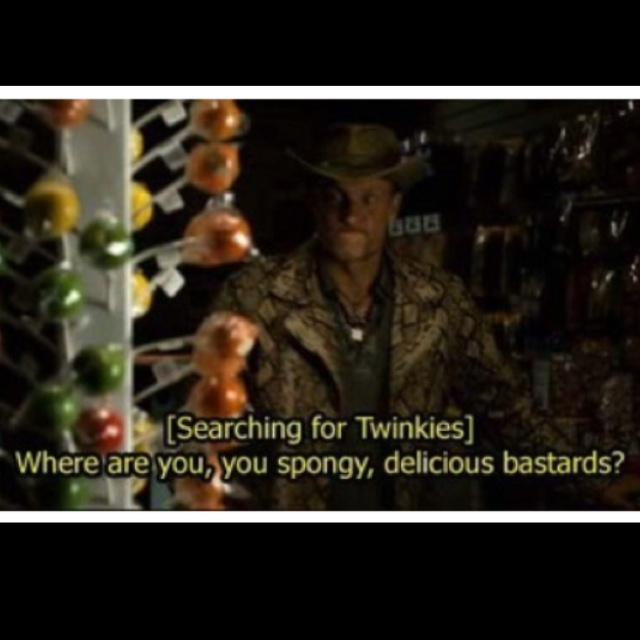 Just watch Zombieland! This guy made my night tbh
