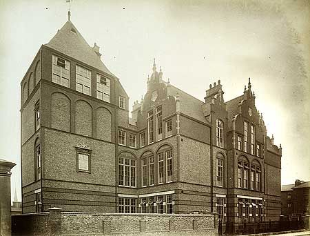 Flora Gardens School, Dalling Road, Hammersmith, May 1887