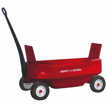 AmazonSmile: Radio Flyer Pathfinder Wagon®, Red: Toys & Games