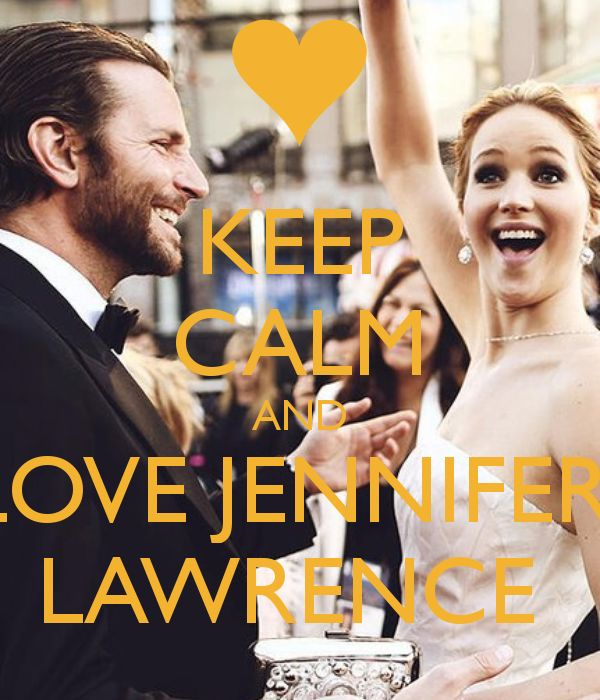 She is my favorite out of all the celebs. She has a very humorous personality and I like It that shes different from the others in a good way. I love u Jennifer Lawrence! But not in the mushy way but as my idle!