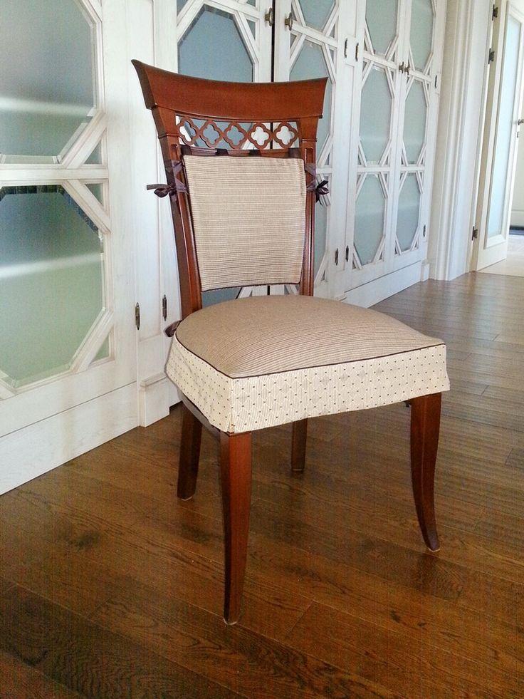 Чехол на стул: из 2-х частей