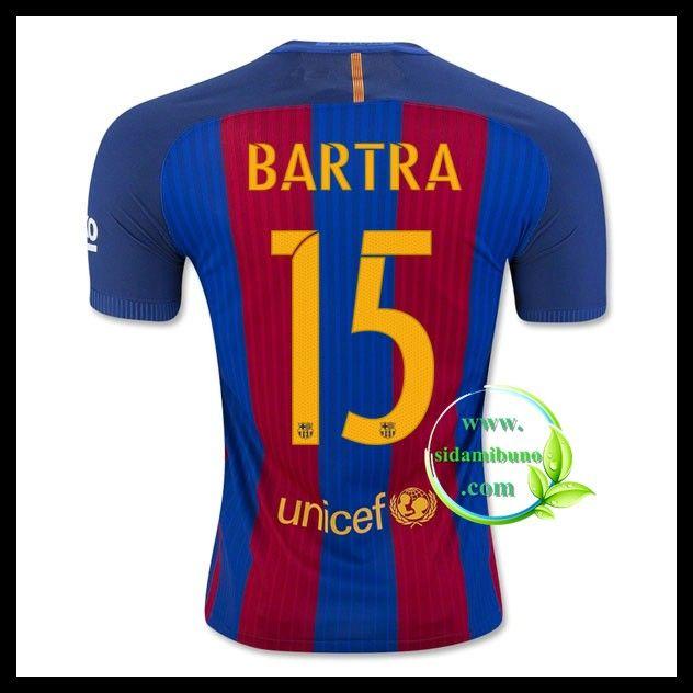 Fotballdrakter FC Barcelona BARTRA #15 Hjemmedraktsett 2016-2017