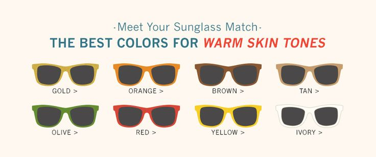 The Best Sunglass Colors for Warm and Cool Skin Tones