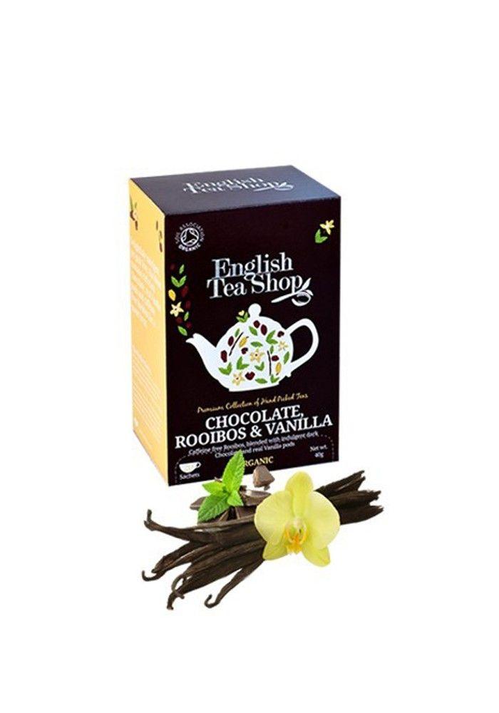 Chlotybox: Té  con un toque de chocolate, rooibos y vainilla, te gourmet que te deja un sabor único.