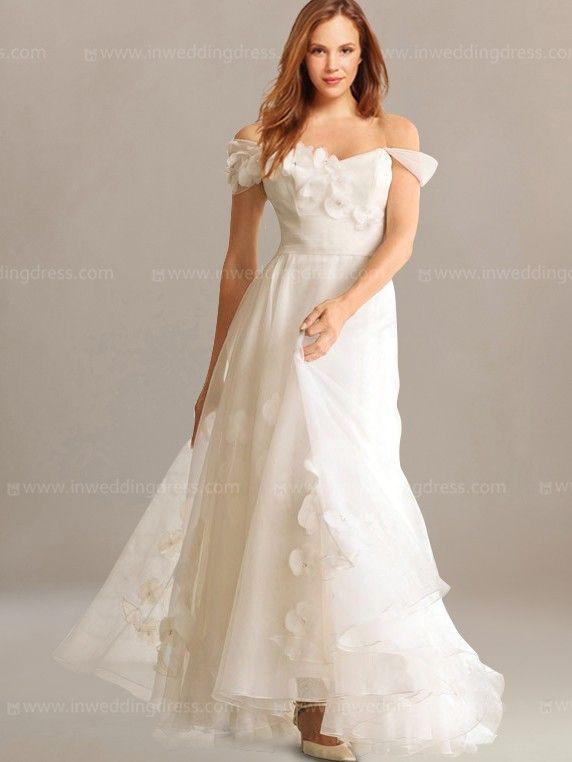 Tropical wedding dresses