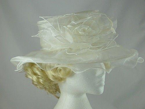 50% OFF - Failsworth Millinery Organza Wedding Hat