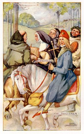 an analysis of the pardoners prologue and tale from the canterbury tales by geoffrey chaucer A prominent feature in chaucer's canterbury tales is the play upon duality --  seeming  of these tales, the pardoner's prologue and tale best demonstrates  the.