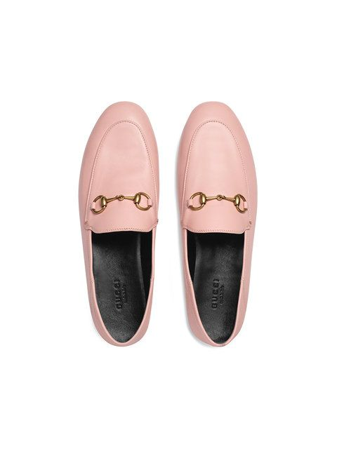 bfcaa124d6c Gucci Pink Brixton Leather Loafers in 2019