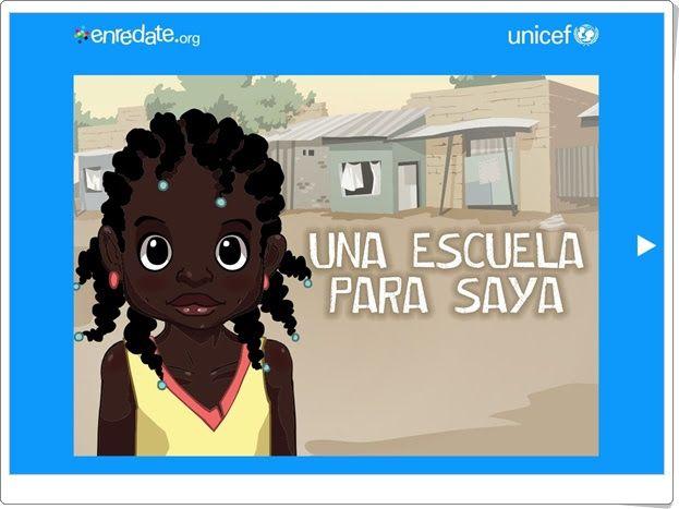 """Día Mundial de la Educación (1 de abril):  """"Una escuela para Saya"""" (Presentación de Unicef)"""