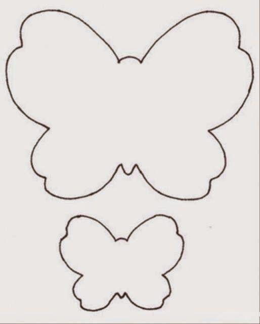 Как сделать трафарет бабочки 202