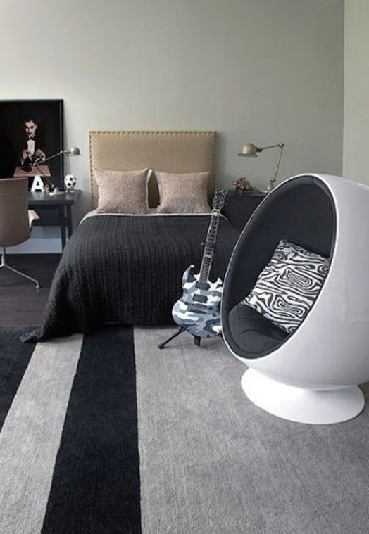12 Modern Teen Bedroom Designs Based On Boy's Hobbies | Kidsomania