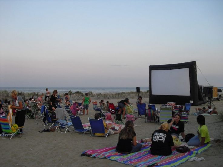 2016 Belmar New Jersey Movies on the Beach! Check the website for the schedule of movies!
