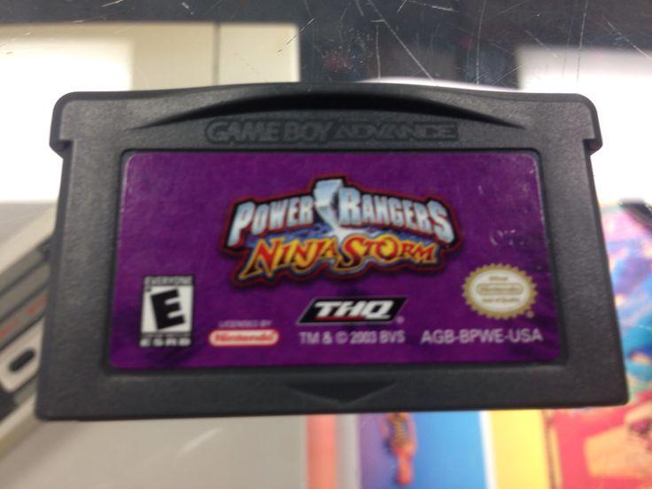 Nintendo Game Boy Advance Power Rangers Ninja Storm