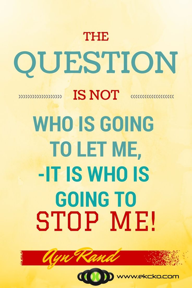 The Question… #quote