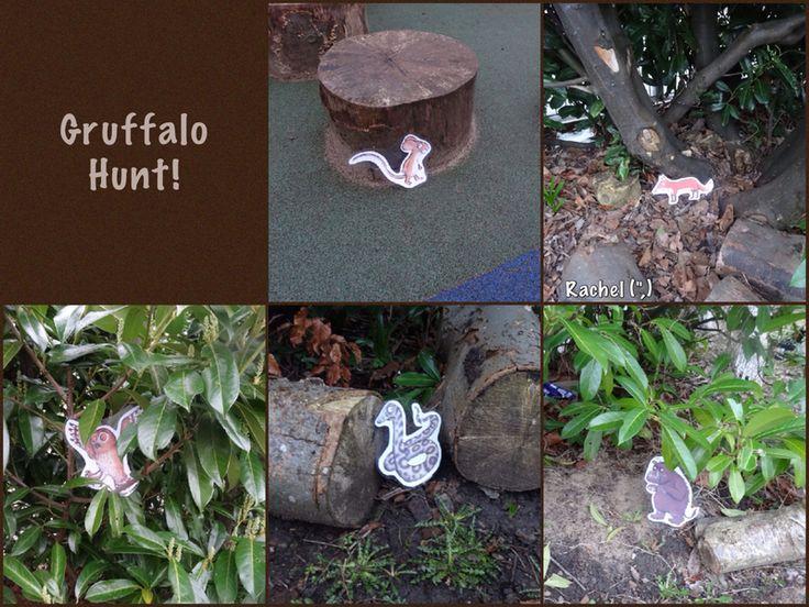 """Gruffalo Hunt from Rachel ("""",)"""