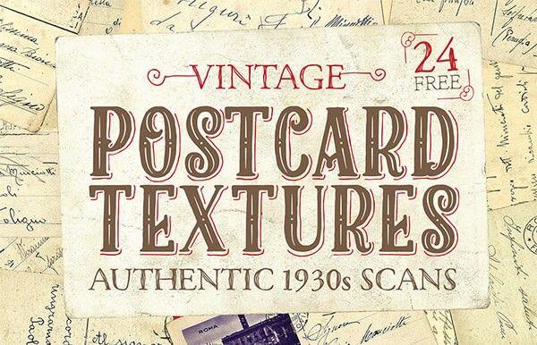 Excelente paquete detexturas vintage perfectos para diseñar tarjetas postales creativas, el paquete esta siendo compartido por nuestros colegas de Spoon G