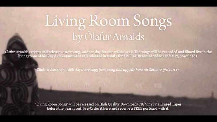 Olafur Arnalds - Living Room Songs (full album) Stirring and just lovely...