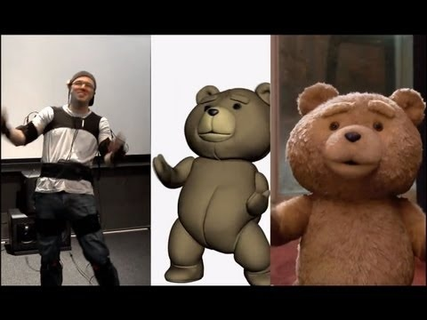 Behind The Scenes HD: Ted Using the Mocap system MVN