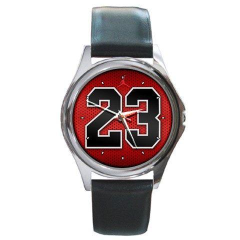 Michael Jordan 23 logo design Round mens by awrelieaccessories