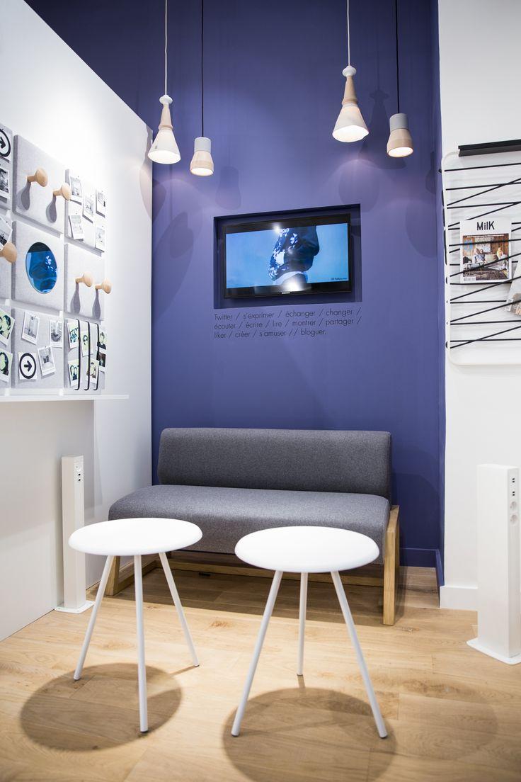 Une boutique différente avec son espace Cosy dédié aux blogueuses et aux créatrices.