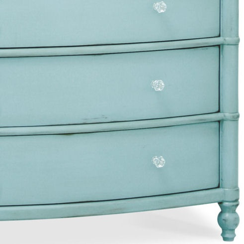 Beau Classic Highboy Dresser In Robins Egg Blue Available @Coach Barn.com Has 6  Drawers