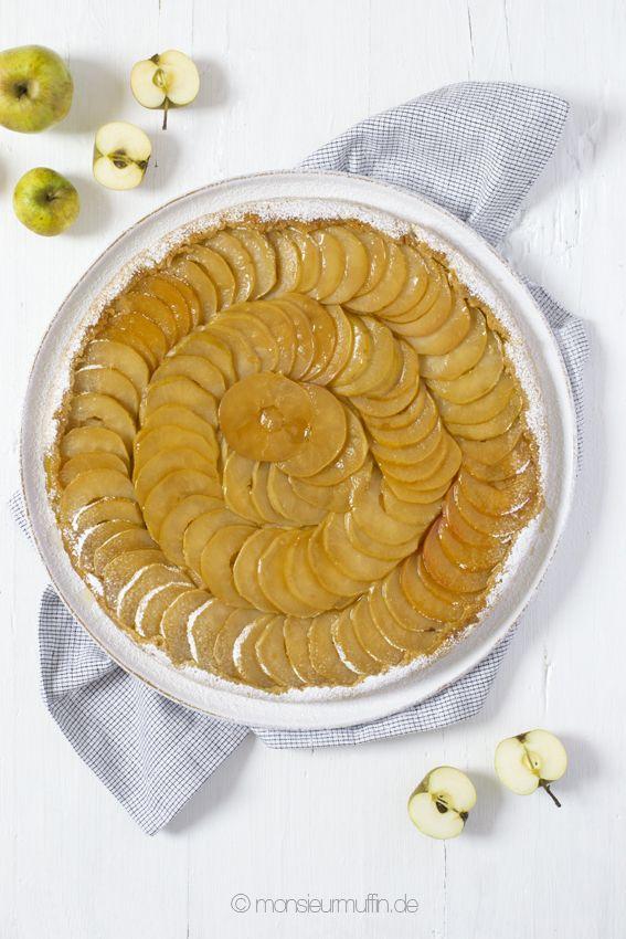 Apfel Tarte Tartin | apple tarte | tarte tartin | Apfeltarte | © monsieurmuffin