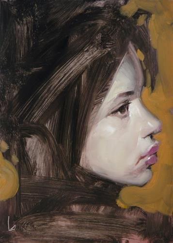 "Daily Paintworks - ""Smudge"" - Original Fine Art for Sale - © John Larriva"