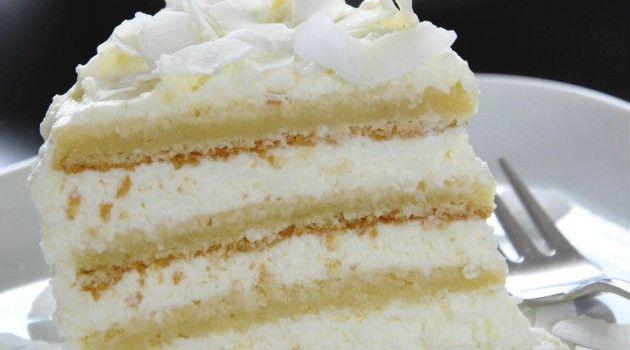 Receitas com leite em pó são uma das mais requisitadas em docerias. Esse bolo também leva coco em sua composição, é uma receita fácil, prática e gostosa. B