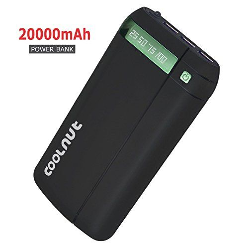 COOLNUT 20000mah Power Bank (Black) COOLNUT http://www.amazon.in/dp/B01GCVCK8U/ref=cm_sw_r_pi_dp_x_9uvTyb17G4Y12