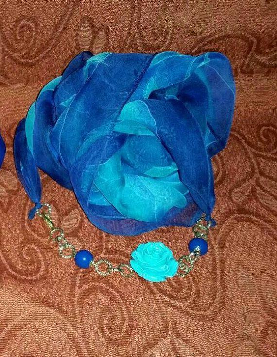 Bufanda de la joyería por Lecreazionidisharon en Etsy