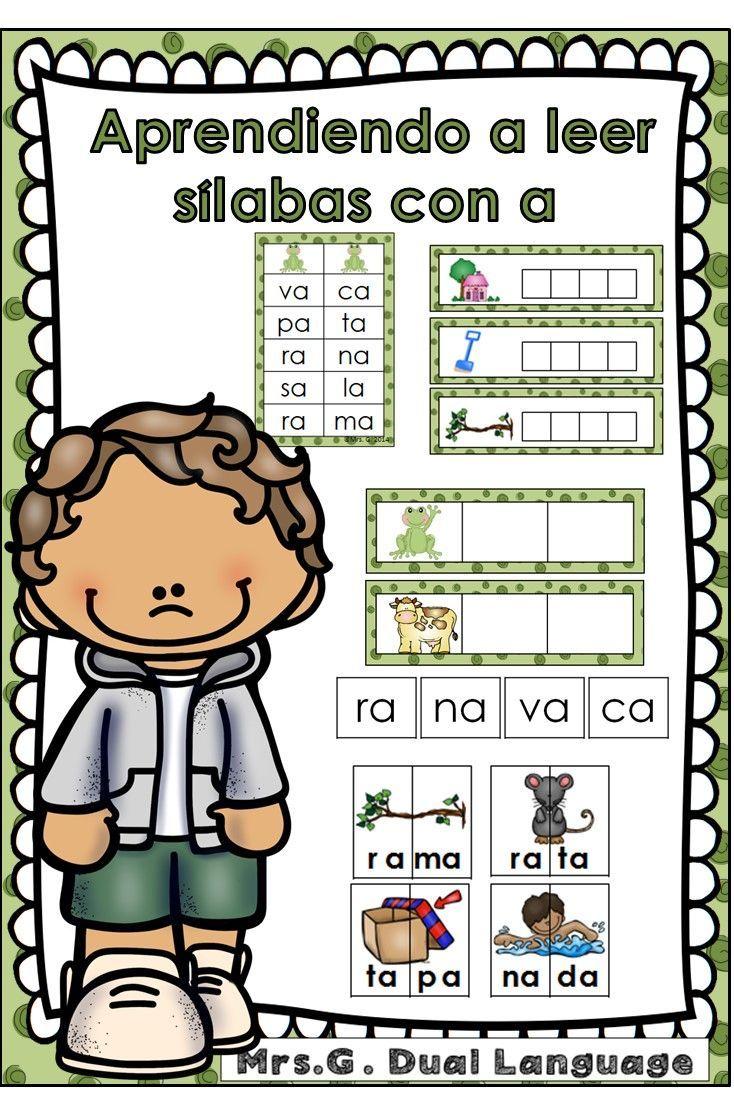 Bilingual dolphin counting card 6 clipart etc - Aprendiendo A Leer S Labas Y Palabras Con La Letra A