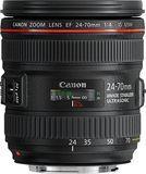 Canon - EF 24-70mm f/4L IS USM Standard Zoom Lens - Black