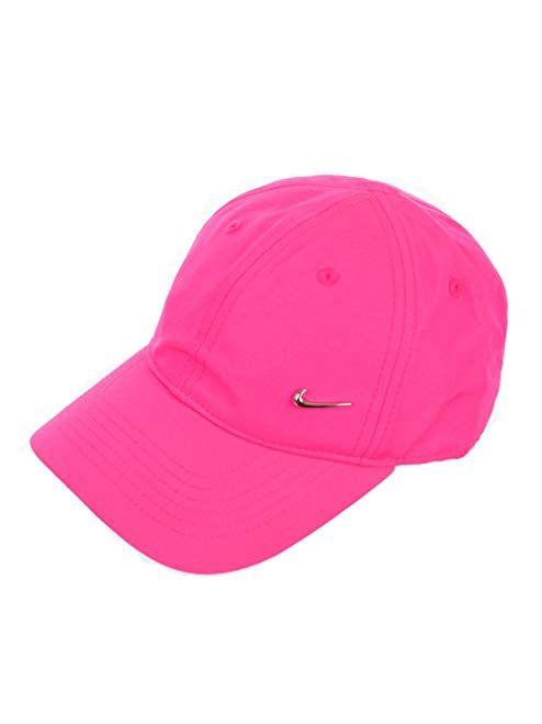 e9a58646f4ab Nike Boy`s or Girl`s Heritage 86 Metal Swoosh Cap (4 6X