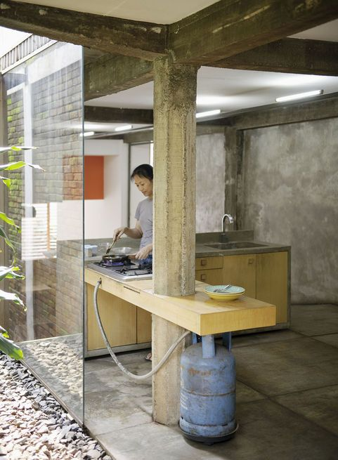 Wisnu & Ndari House | djuhara + djuhara #kitchen
