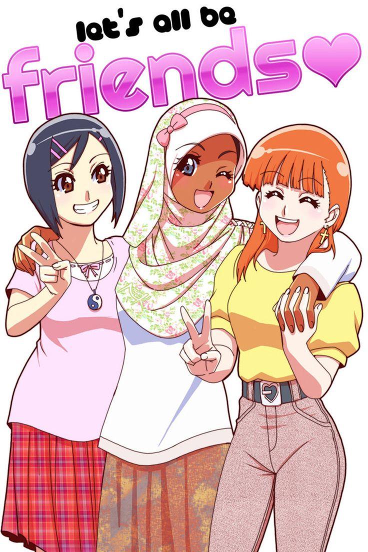 muslimmanga17 Kartun, Gambar, Sahabat