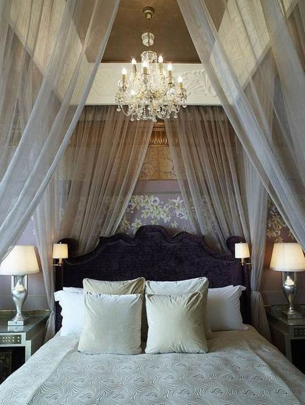 chandelier in master bedroom - Romantic Master Bedroom Ideas To Set The Mood For Love