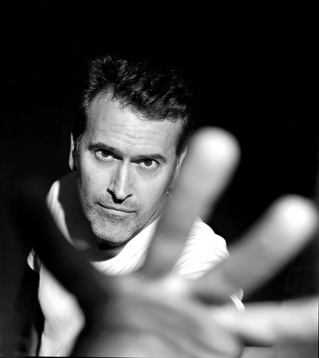 Actor and writer Bruce Campbell, totally on my phone's desktop atm.