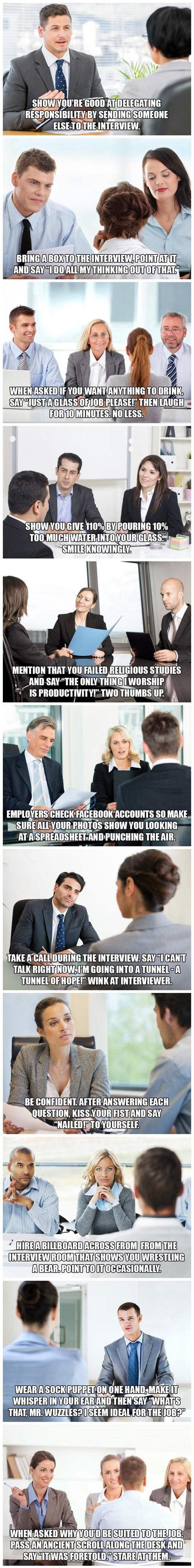 Funny Pictures About Tips To Help You Succeed At Job