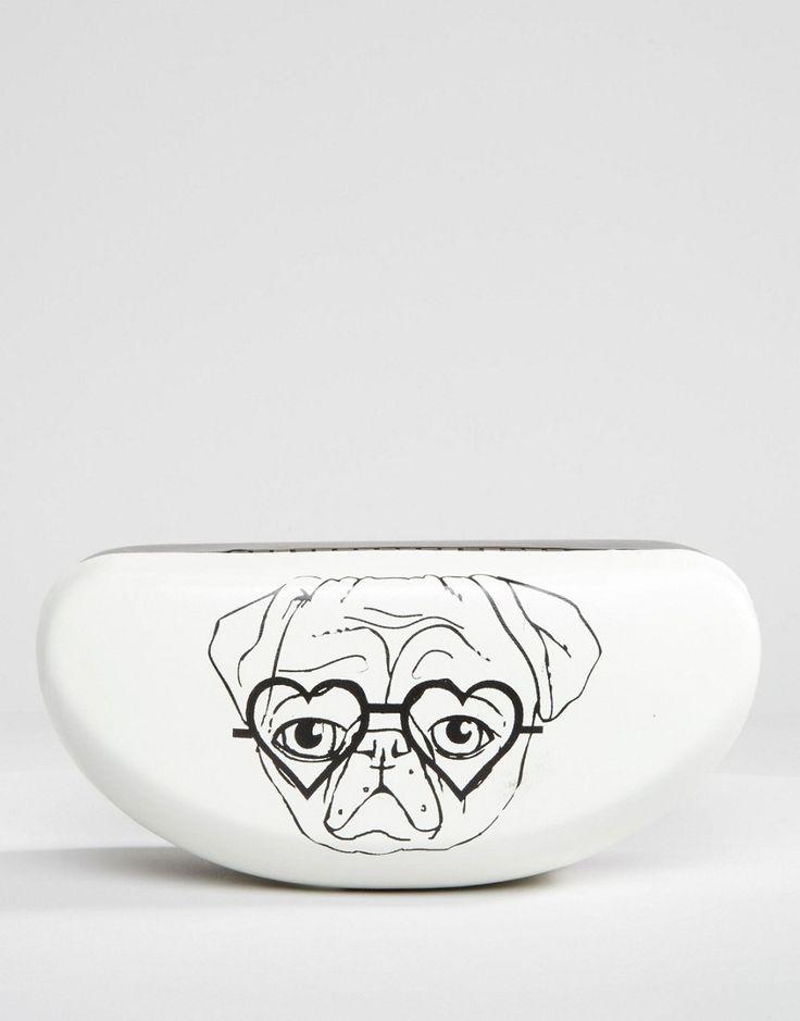 Image 1 ofASOS Pug Sunglasses Case